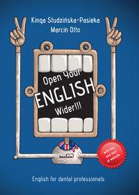 Dentonet Open Your English Wider!!! - Kinga Studzińska-Pasieka, Otto Marcin