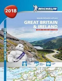 Wielka Brytania i Irlandia. Atlas samochodowy 1:300 000