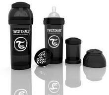 Twistshake Butelka antykolkowa, czarna 260ml