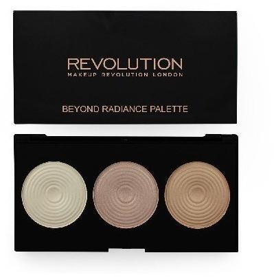 Revolution Makeup Makeup Revolution, Highlighter Palette, paleta rozświetlaczy Beyond Radiance, 15 g