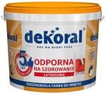 Dekoral Akrylit W Farba Lateksowa Biała 10 L