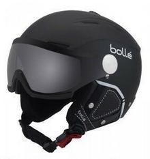 Bolle backline visor premium soft black|white+modulator silver visor 2018 czarny KASK BACKLINE VISOR 54-56 SO BK/WH