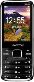 Maxcom M55 Dual Sim Czarny