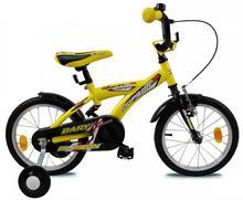 "Olpran  rowerek dziecięcy Bary 14"" yellow"