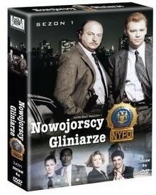 Nowojorscy gliniarze sezon 1 DVD) Felix Enríquez Alcala