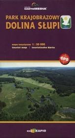 Sygnatura Park Krajobrazowy Dolina Słupi Mapa turystyczna 1:50 000 - CartoMedia