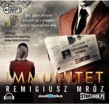 StoryBox.pl Immunitet (audiobook CD) - Remigiusz Mróz