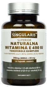 SINGULARIS Singularis Naturalna Witamina E Tokoferole Kompleks 400 IU x 120 kaps