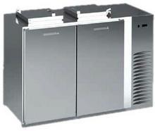 DORA METAL Schładzarka na odpady z dnem nieizolowanym 2x120 l, 1630x716x1176 mm | BLOD-2120 BLOD-2120/DN