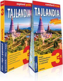 ExpressMap Tajlandia 3w1. Przewodnik + atlas + mapa samochodowa-turystyczna praca zbiorowa