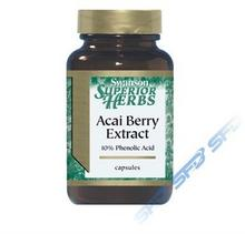 SWANSON Acai Berry Extract 60kap