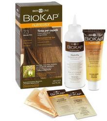 Bios Line S.P.A. BIOKAP NUTRICOLOR 7.3 Złoty Blond 140ml