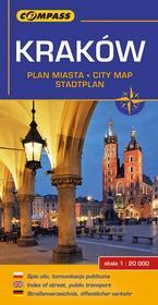 Wydawnictwo Compass Kraków plan miasta - Compass