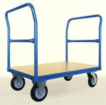 008 00853966 Wózek platformowy z dwoma uchwytami czołowymi rurowymi wymiary 1200x800 mm) 53966-uniw