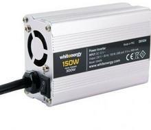 Whitenergy Przetwornica samochodowa DC12 V-AC230V 150W USB 09409