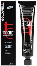 Goldwell Topchic, farba do włosów, 4N@KK Mid Brown, 60 ml