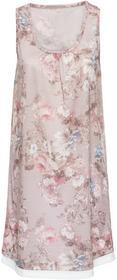 Bonprix Sukienka shirtowa beżowy w kwiaty