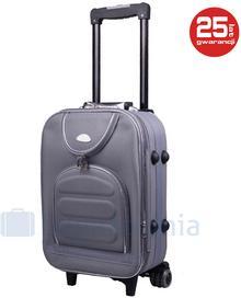 PELLUCCI Mała kabinowa walizka PELLUCCI 801 S - Antracytowy - szary