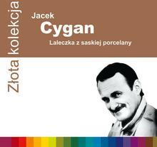 Laleczka z saskiej porcelany Z?ota kolekcja CD Jacek Cygan