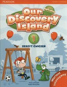 PEARSON Our Discovery Island 1 Zeszyt ćwiczeń Wariant intensywny - Lochowska Tessa, Regina Raczyńska