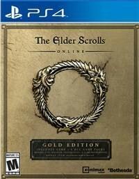 The Elder Scrolls Online Gold Edition PS4