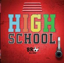 B.R.O. High School CD + koszulka męska czerwona L)