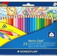 Staedtler Kredki trójkątne ołówkowe 24 kolory 13