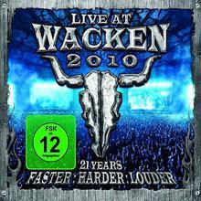 Live At Wacken 2010 2CD+Blu-ray] Wacken Recor