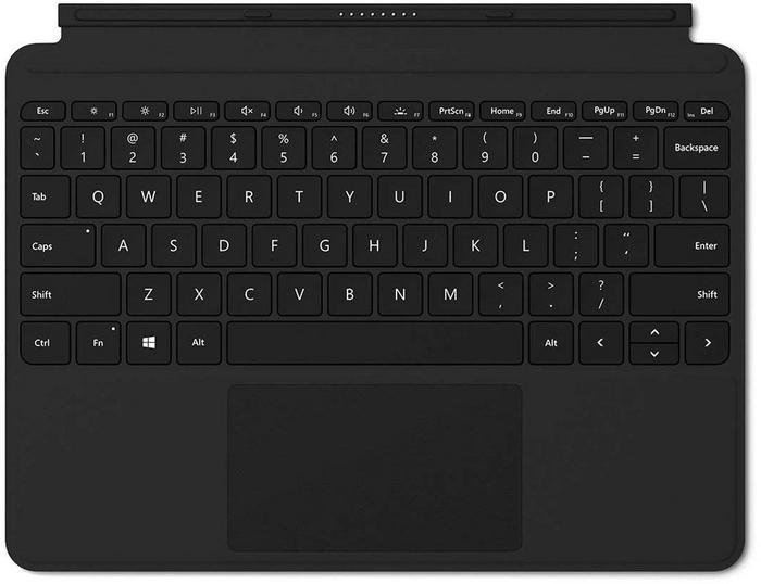 Microsoft Type Cover do Surface Go Czarny