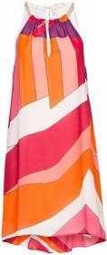 Bonprix Sukienka pomarańczowo-różowy