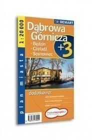 Dąbrowa Górnicza, Sosnowiec - plan miasta (skala 1:20 000) - Praca zbiorowa