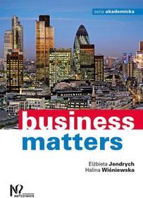 Business matters - Elżbieta Jendrych, Halina Wiśniewska