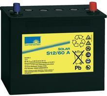 GNB Sonnenschein Akumulator ołowiowy 60 Ah sucha bateria słoneczna S12/60 G S12/60 A