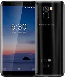 Kruger&Matz Live 6 Plus 64GB Dual Sim Czarny