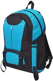 vidaXL vidaXL Plecak turystyczny 40 L czarny i niebieski