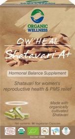 Organic Wellness Shatavari A+ Młodość Organic Wellnes Indie 90 Kapsułek 5361-59899_20161009210740
