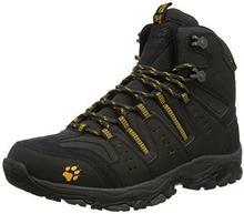Jack Wolfskin MTN Storm Texapore M męskie-& Wander buty trekkingowe, kolor: czarny (burly yellow 3800), rozmiar: 39.5 B00Z0D328O