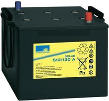 GNB Sonnenschein Akumulator ołowiowy 130 Ah sucha bateria słoneczna S12/130G6 S12/130 A