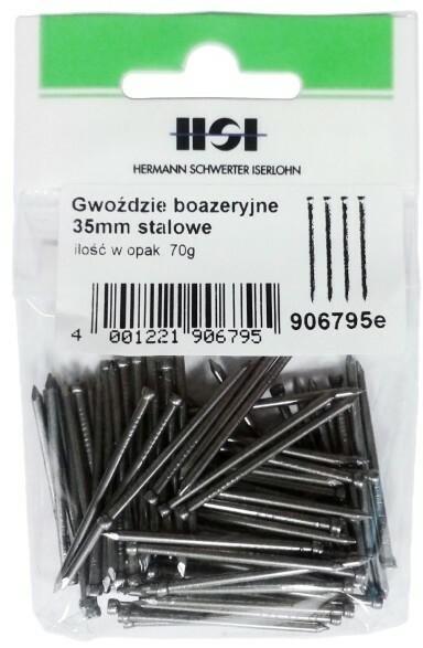 Grene boazeryjne stalowe 1 8 x 35 mm 70 g