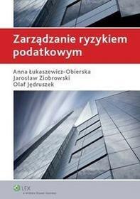 Zarządzanie ryzykiem podatkowym - dostępny od ręki, wysyłka od 2,99
