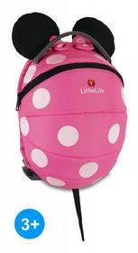 LittleLife Duży plecak Disney +3L Myszka Minnie Pink 3255-uniw