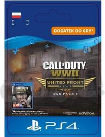 Call of Duty WWII United Front DLC PS4 wersja cyfrowa