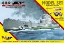 "Mirage Hobby Okręt Podwodny ORP \""ORZEŁ"""