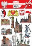 Pamiątki z polski Naklejki wypukłe - Gdańsk