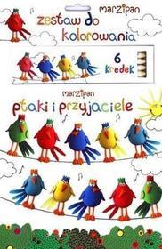 Olesiejuk Sp. z o.o. Marzipan. Ptaki i przyjaciele + kredki
