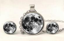 Komplet biżuterii Księżyc