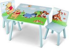 Delta Delta Kubuś Puchatek Stolik z krzesełkami dla dzie TT89314WP