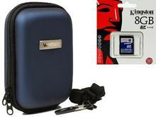 Progallio Torba na aparat fotograficzny z 8GB SD karta pamięci do Sony WX350Lumix SZ8SZ10Olympus Stylus VH-520Nikon Coolpix A300s7001 4250946105949