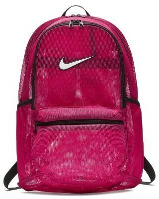 ea76cd3399d7c Nike Siateczkowy plecak treningowy Nike Brasilia - Różowy BA5388-666 ...