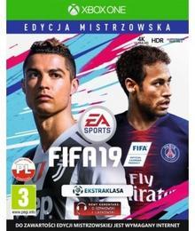 FIFA 19 Edycja Mistrzowska XONE